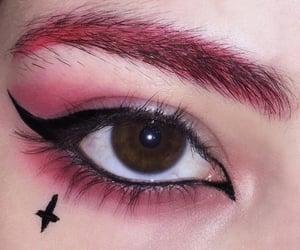 aesthetic, eye, and eye makeup image