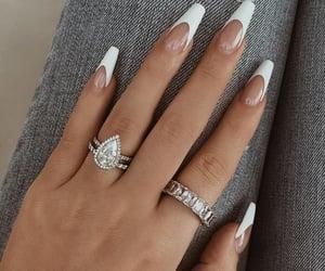 diamond, fashion, and nails image