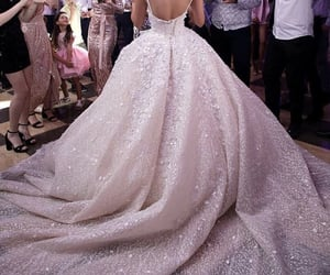 bride, princess, and style image