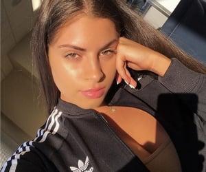 girl, adidas, and beautiful image