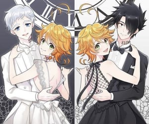 anime, cute, and the promised neverland image
