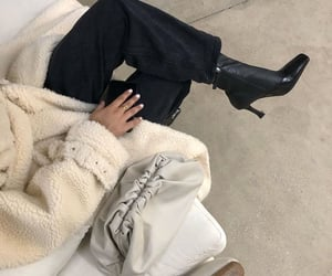 fashion, look, and neutrals image