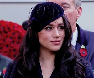 beauty, meghan markle, and royalty image