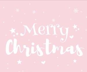 merry christmas and pink image