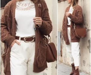 cardigan with pants image