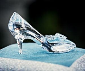 disney and glass slipper image