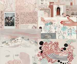 Collage, pink, and random image
