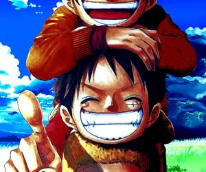 ace, anime, and onepiece image