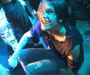 blue, concert, and emo image