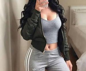 adidas, grey, and jacket image