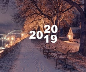 2020, new year, and winter image
