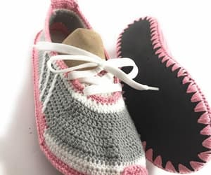 etsy, winter shoes, and hand knit socks image