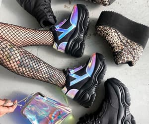 creepers, goth, and sneackers image