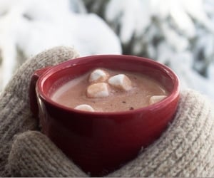 chocolate, cold, and winter image