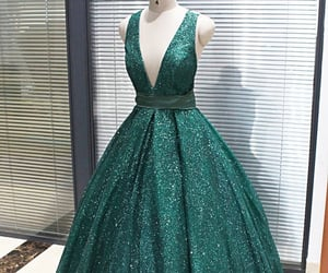 prom dresses, ball gown prom dresses, and demidress image