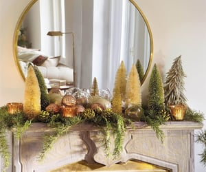 christmas and manet decorations image
