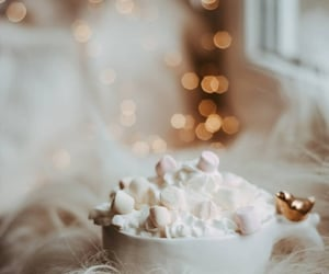 aesthetic, white, and hot chocolate image