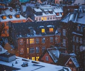 christmas, denmark, and snow image