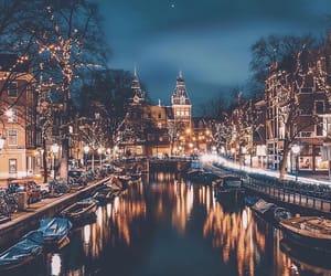 amsterdam, city, and christmas image