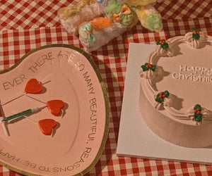 asia, cake, and christmas image
