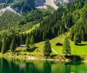 austria, lake, and gosau image
