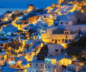 europe, Greece, and santorini image