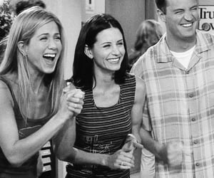 friends, Jennifer Aniston, and chandler bing image