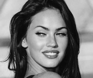 black and white, megan fox, and fashion image