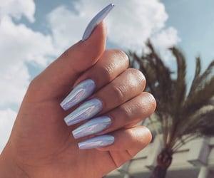 beauty, nail, and nails image