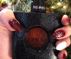 beauty, black, and christmas image