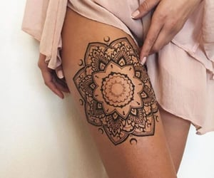 goals, mandala, and tattoo image