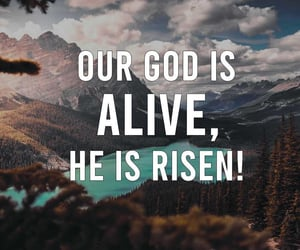 alive, faith, and god image