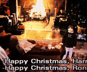 christmas, gif, and harry potter image