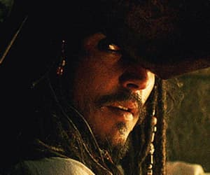 gif, jack sparrow, and johnny depp image