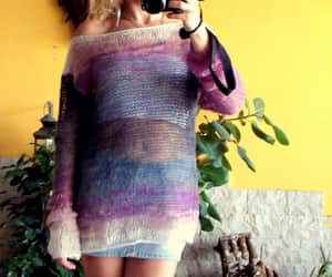 etsy, grunge sweater, and womens sweaters image