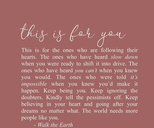 encouragement, girl, and inspiration image