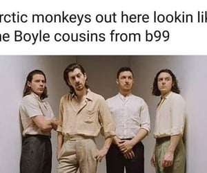 arctic monkeys, comedy, and funny image