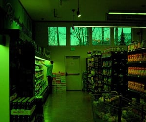 green, grunge, and aesthetic image