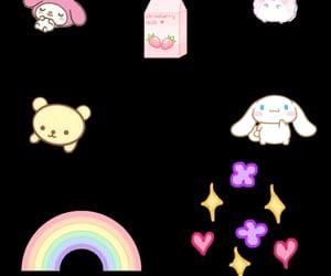 fluffy, kawaii, and overlay image