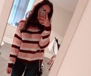 denim, jumper, and stripped jumper image
