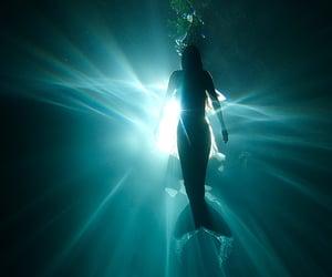 mermaid and ocean image