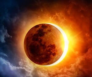 astrology, eclipse, and solar eclipse image