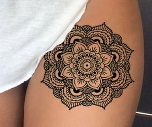 goal, mandala, and mandalatattoo image