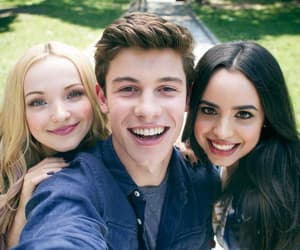 dove cameron, shawn mendes, and sofía carson image