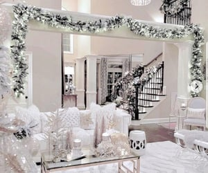 aesthetic, white, and christmas image