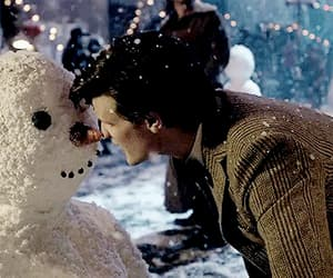 christmas, gif, and doctor who image