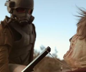 desert, ranger, and fallout image