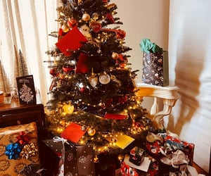 christmas tree, december, and decoration image