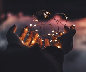 lights and hands image