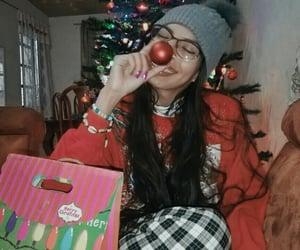aesthetic, santa, and christmas image